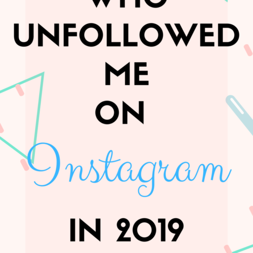 who unfollowed me in 2019