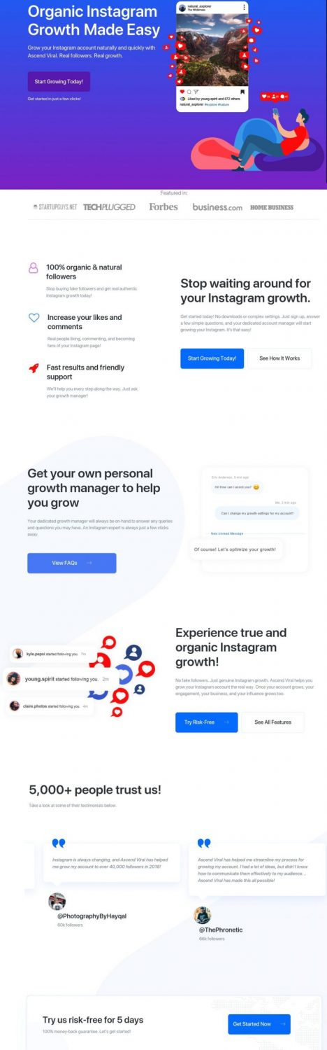 Instagram growth service-organic growth made easy