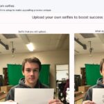 upload selfie recover instagram account